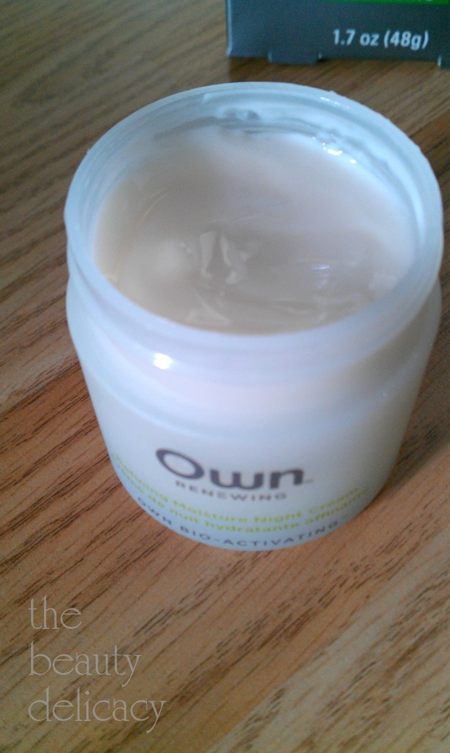own night cream review 5-7-2013 6-48-17 PM