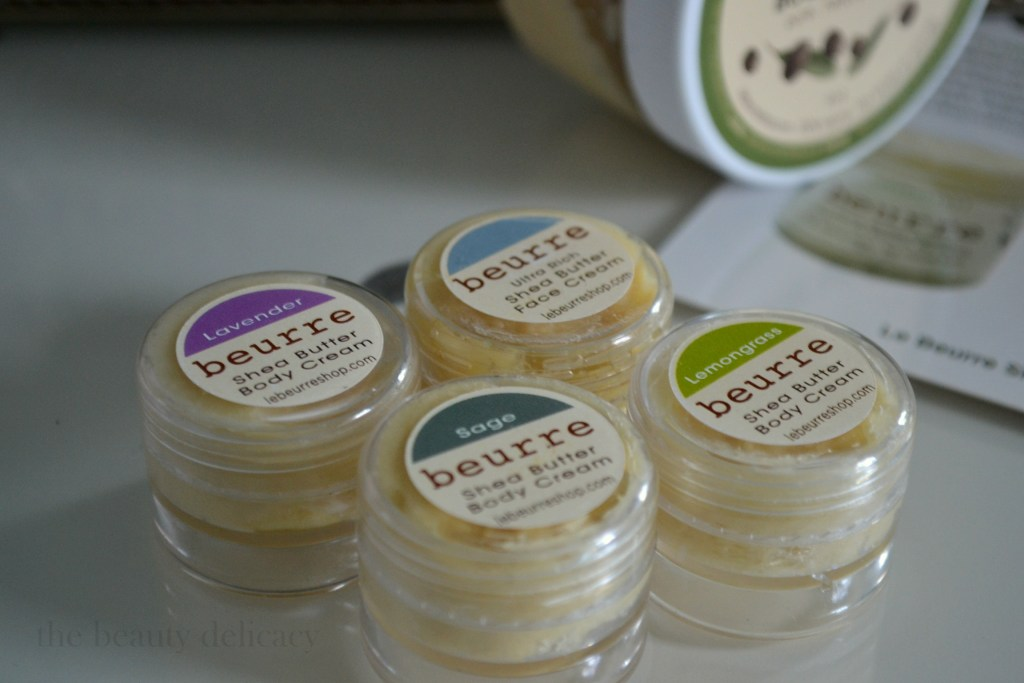 le beurre shea butter samples