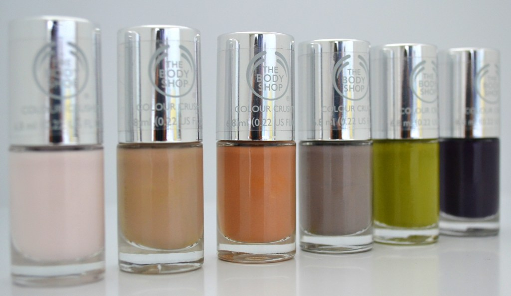 the body shop vegan nail polish