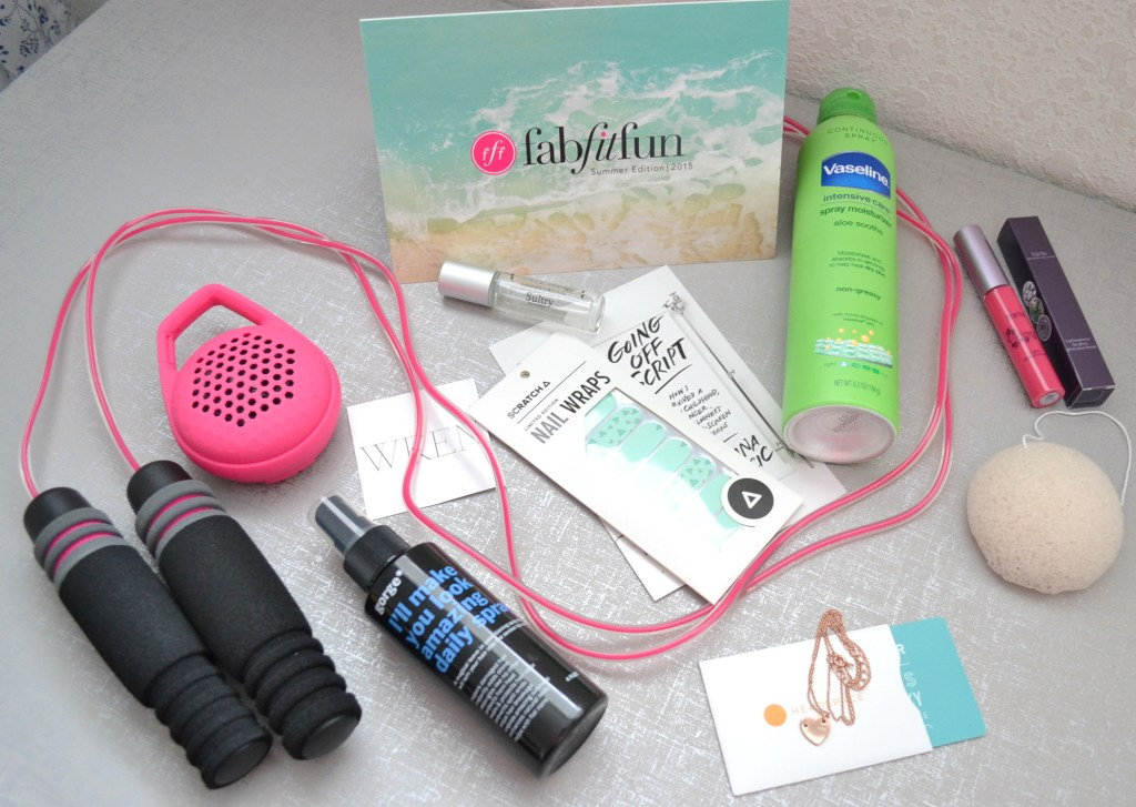fabfitfun summer edition box