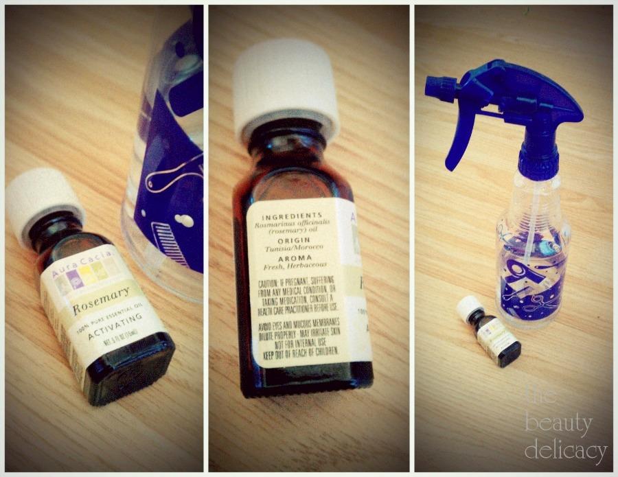 rosemary herbal hair+scalp reviver
