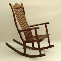 Handmade Rocking Chairs Bumbo Chair Accessories Black Walnut Wood Seat Noble Bear Furniture And Home Custom