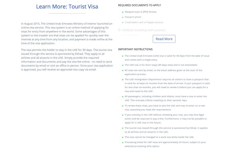 Uae Visa Application Png