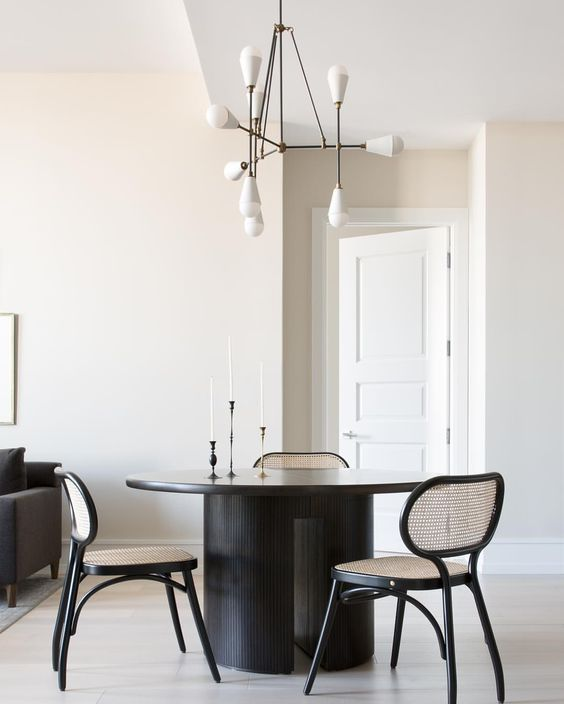 Savvy Favorites Contemporary Modern Round Dining Room Tables The Savvy Heart