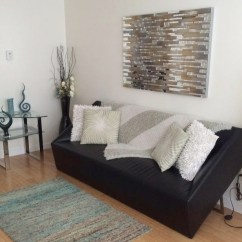 Help Me Accessorize My Living Room Arrangement Of Furniture In Small Blog Maude Cheri Furnishings Although Black Is Easy To Keep Clean And It Just Made The Feel Dark Even With All Light Accent Colors I Chose