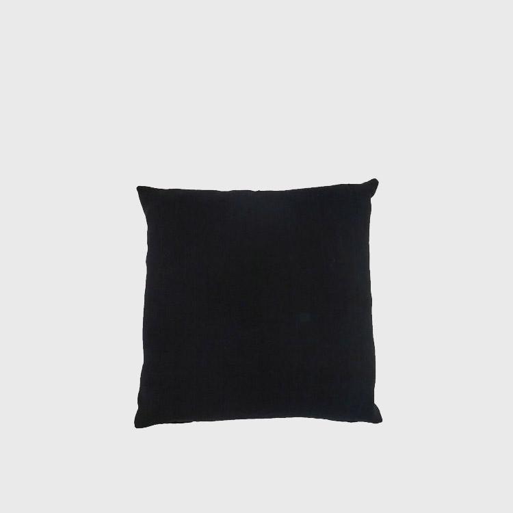vintage black mudcloth pillow repeat world