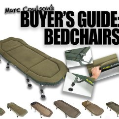 Fishing Chair Bed Reviews Swing Seat Knot Buyer S Guide Bedchairs Carpfeed