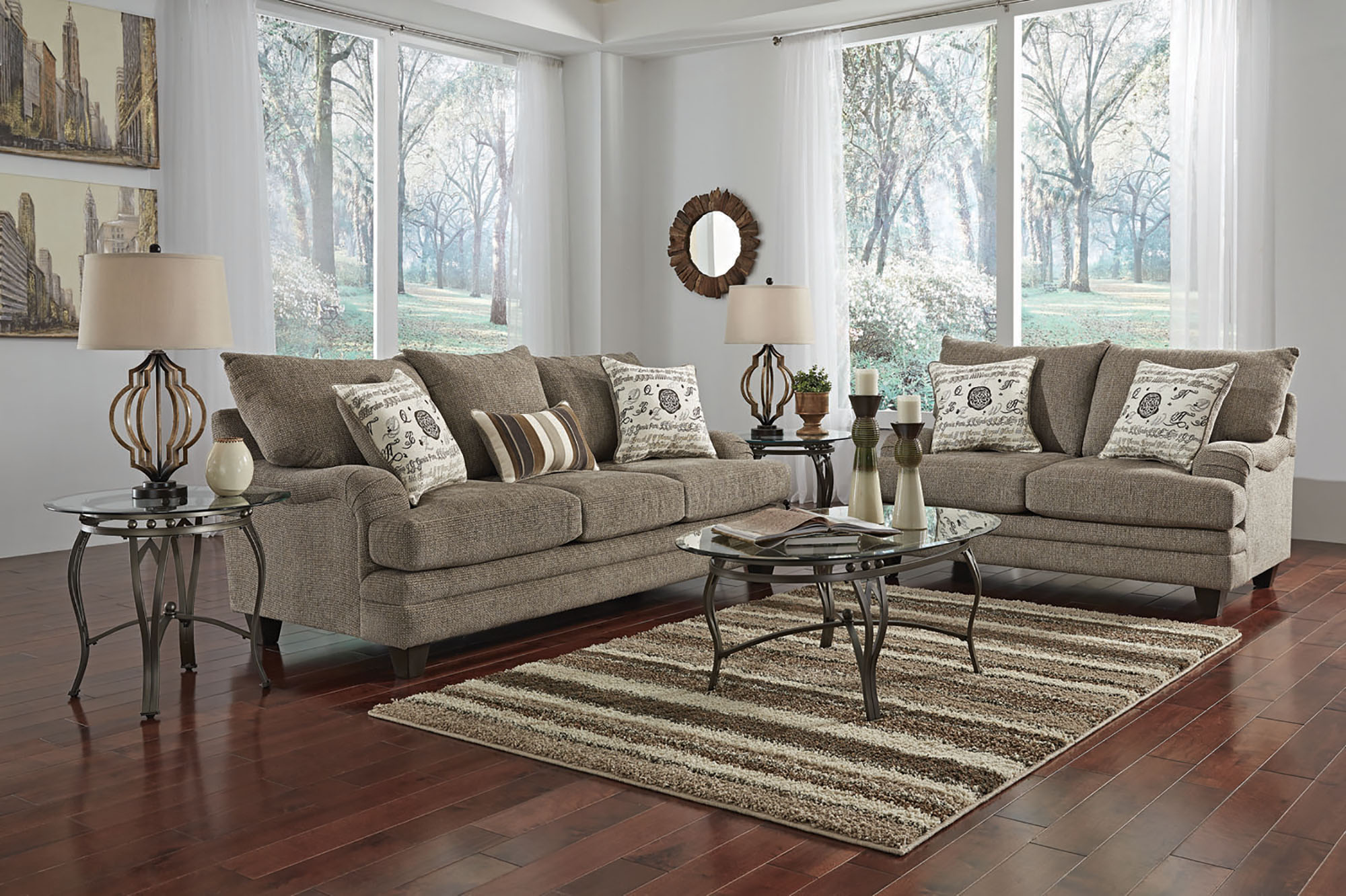 woodhaven living room furniture small bar design in sets w85 mello lr jpg