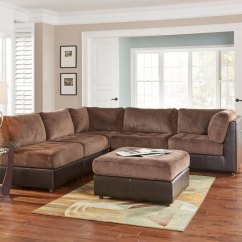 Woodhaven Living Room Furniture Custom Cabinets Sets Hennessey 11 Piece Collection