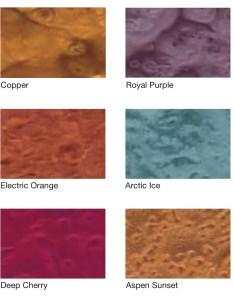 Hp spartacote alpenglow metallic pigments also color charts  denver artistic floors rh denverartisticfloors