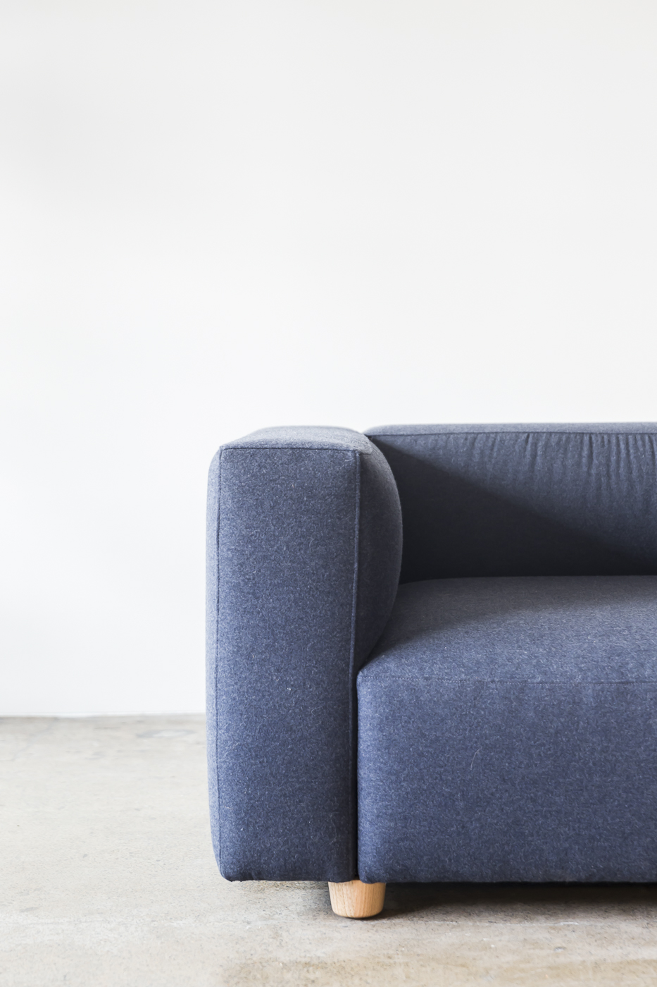 Blue Chair And A Half Hawley Sofa Chair By Staple Co