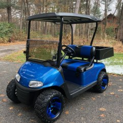 Ezgo Windshield 4 Wire Ethernet Cable Diagram Rxv Electric Viper Blue W Work Box Full Ride Golf Carts