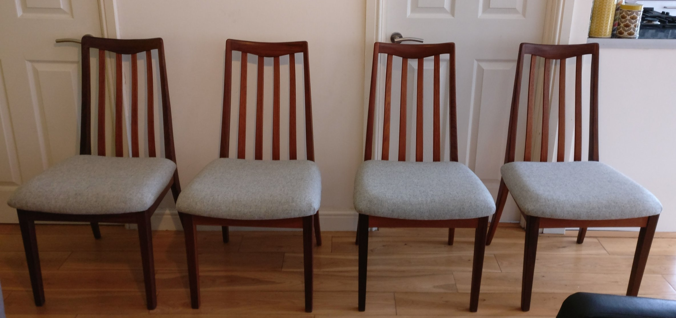 reupholster dining chairs high back upholstered chair for sale 4 reupholstered g plan grist twine