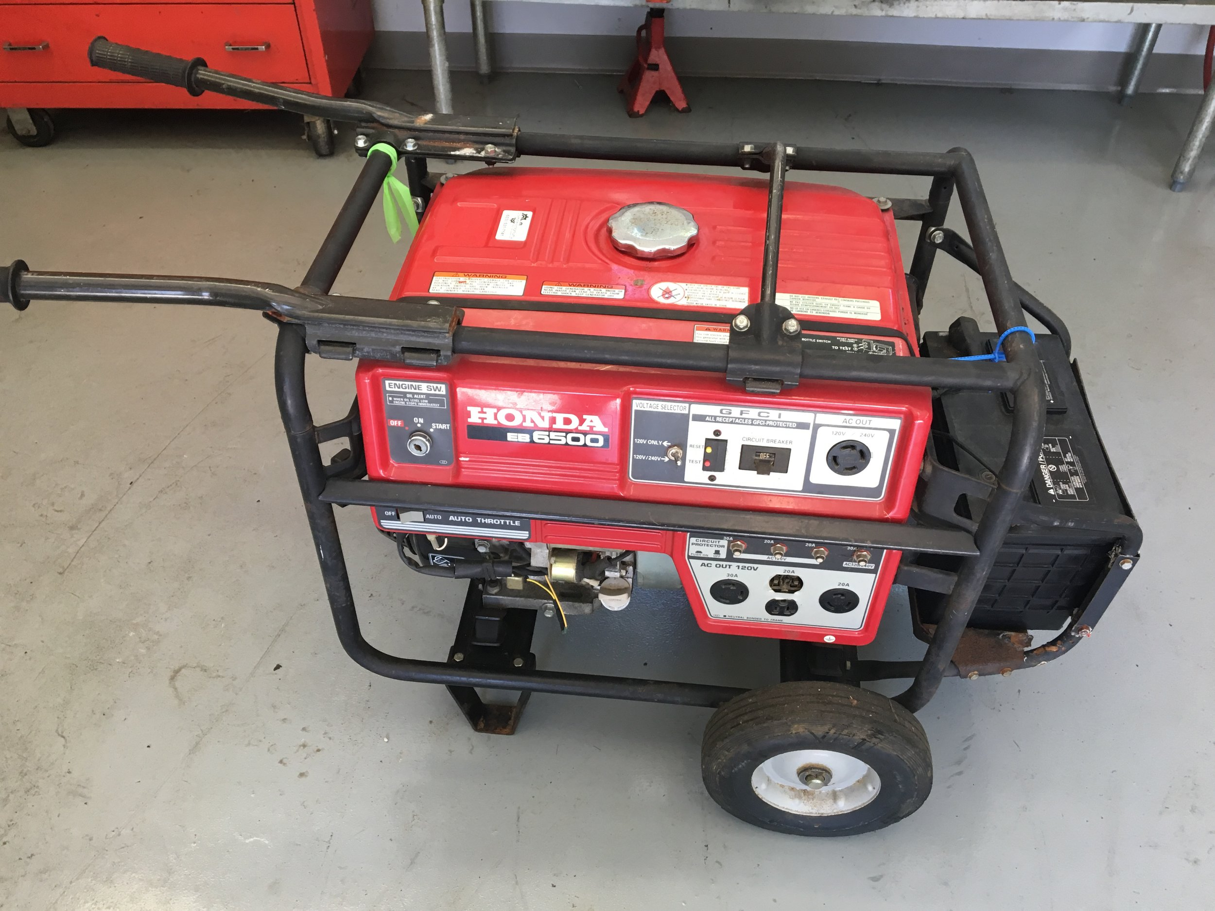 portable generator repair [ 1500 x 1125 Pixel ]