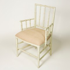 Bamboo Dining Chair Swivel Armless Faux With Arms Ruby Beets
