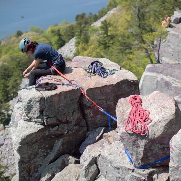 Devils Lake Climbing Guides Rock Climbing Bouldering in