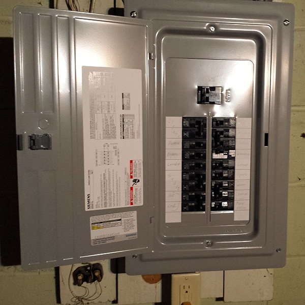 Electrical Wiring Circuit Breaker Panel