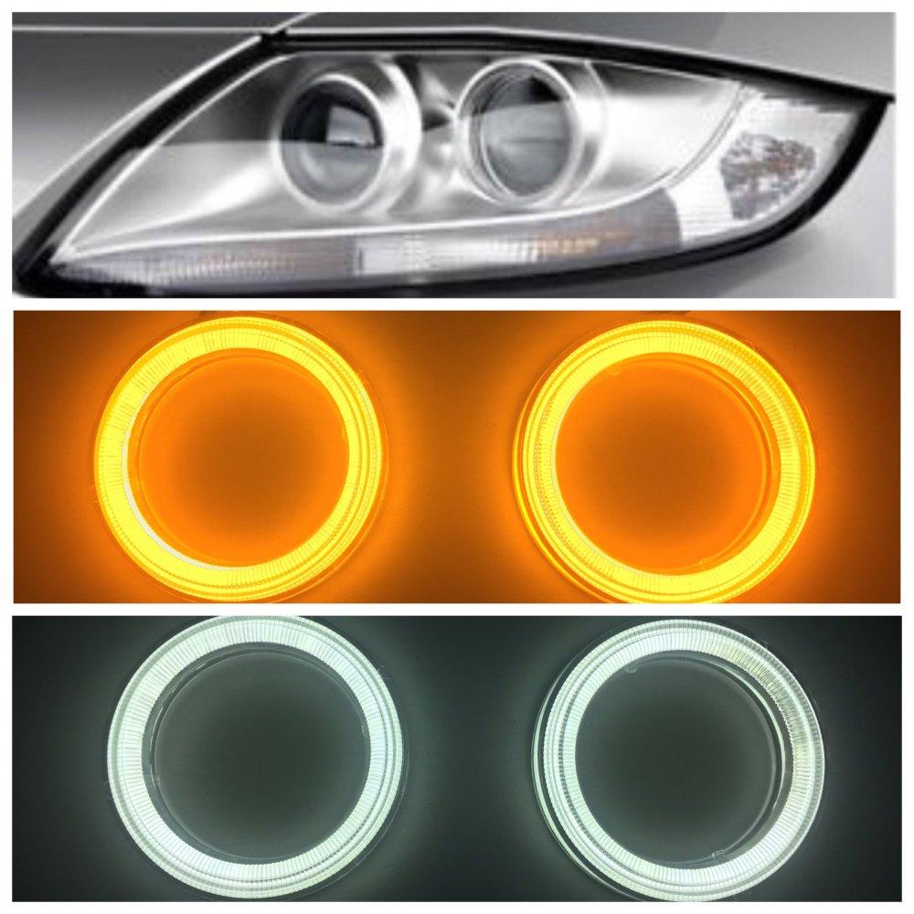 medium resolution of v3 round angel eyes for bmw z4 e85 e86 others switchback white bavgr ppe designs
