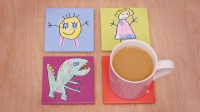How to make personalised tile coasters  Yours
