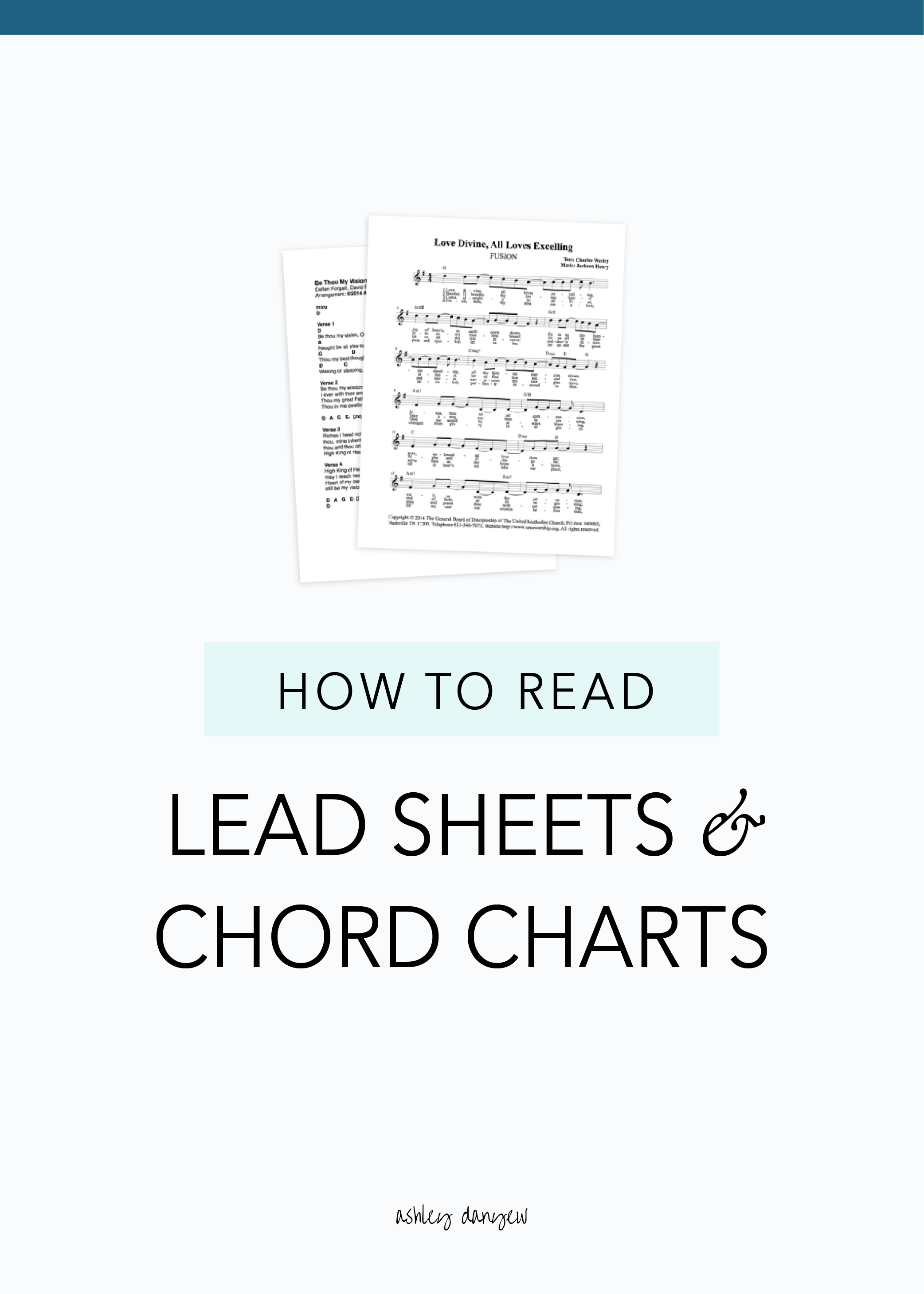 hight resolution of how to read lead sheets and chord charts