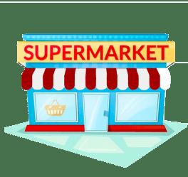 Supermarket Cartoon Png