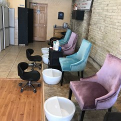 Pink Nail Salon Chairs Clear Dining Bijou Nails Company Is The Largest Black Owned In Traditional Chair Won T Be Found Here Picture By Shotking