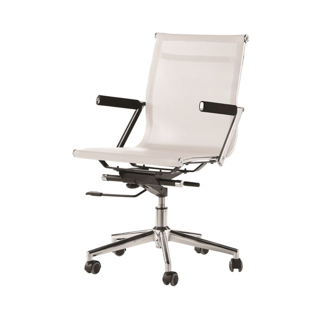 zeta desk chair white living room covers ideal furniture spain mesh office