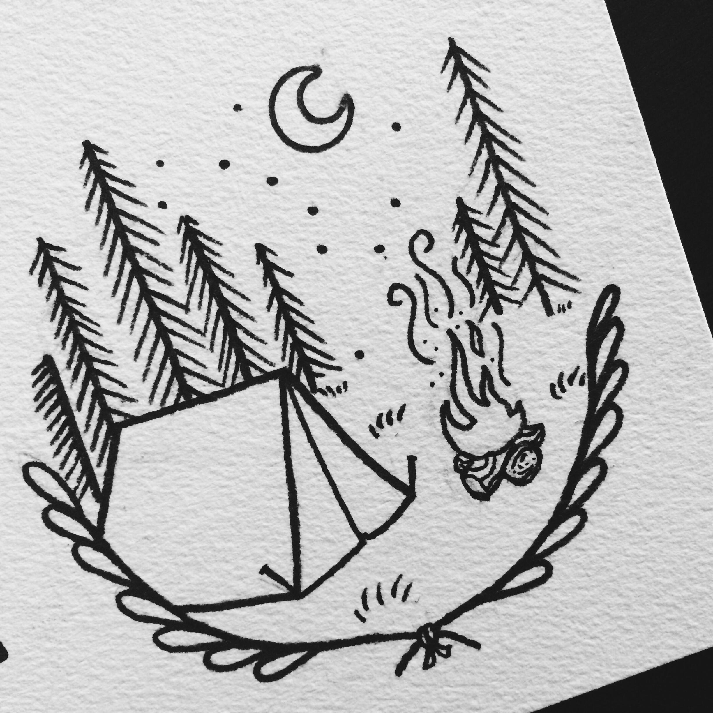 Simple Drawings Rock Meets Soil