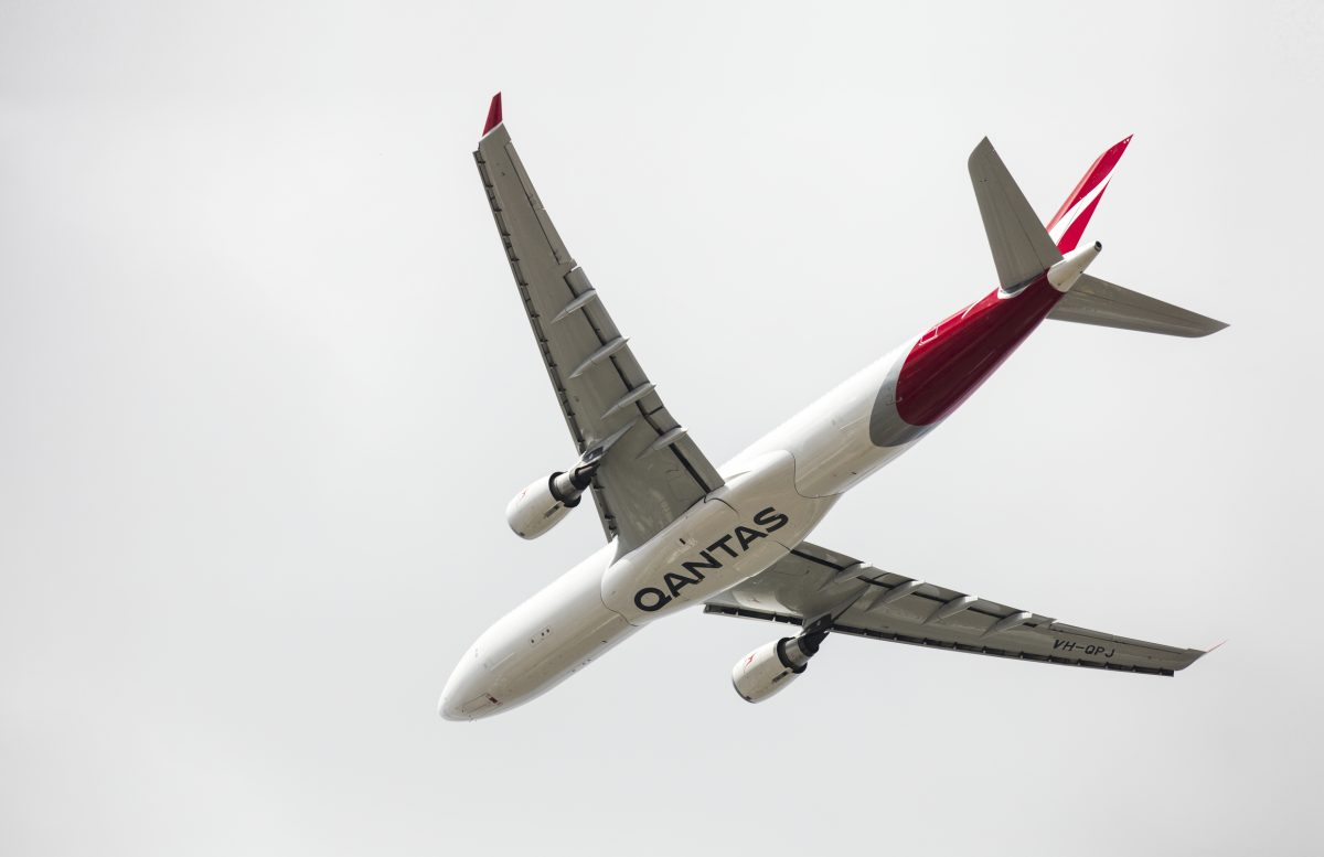 Qantas A330 (Source: Qantas)