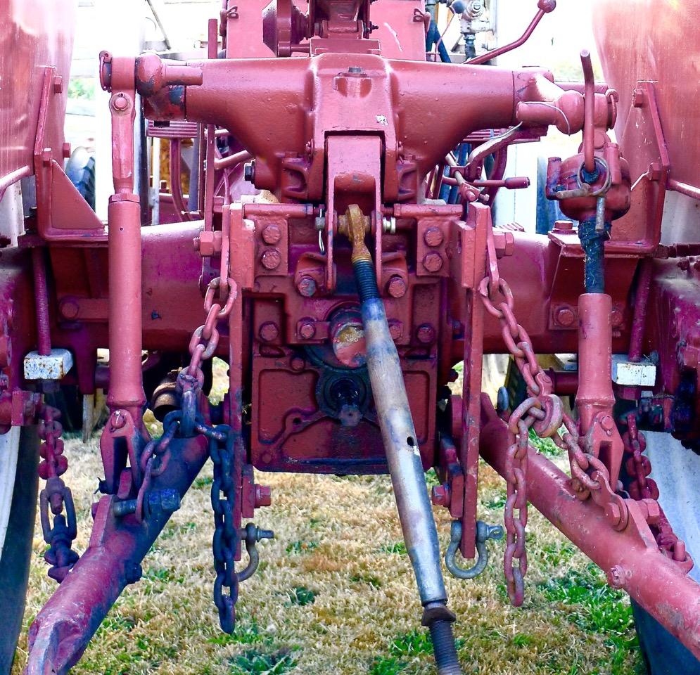 this three point hitch is on leenstra s porsche tractor  [ 995 x 960 Pixel ]
