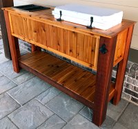 Yeti Tundra 45 Outdoor Patio Cooler Stand  Highway 9 Designs