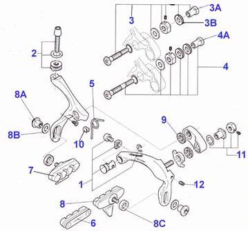 Bicycle Headset Parts Diagram