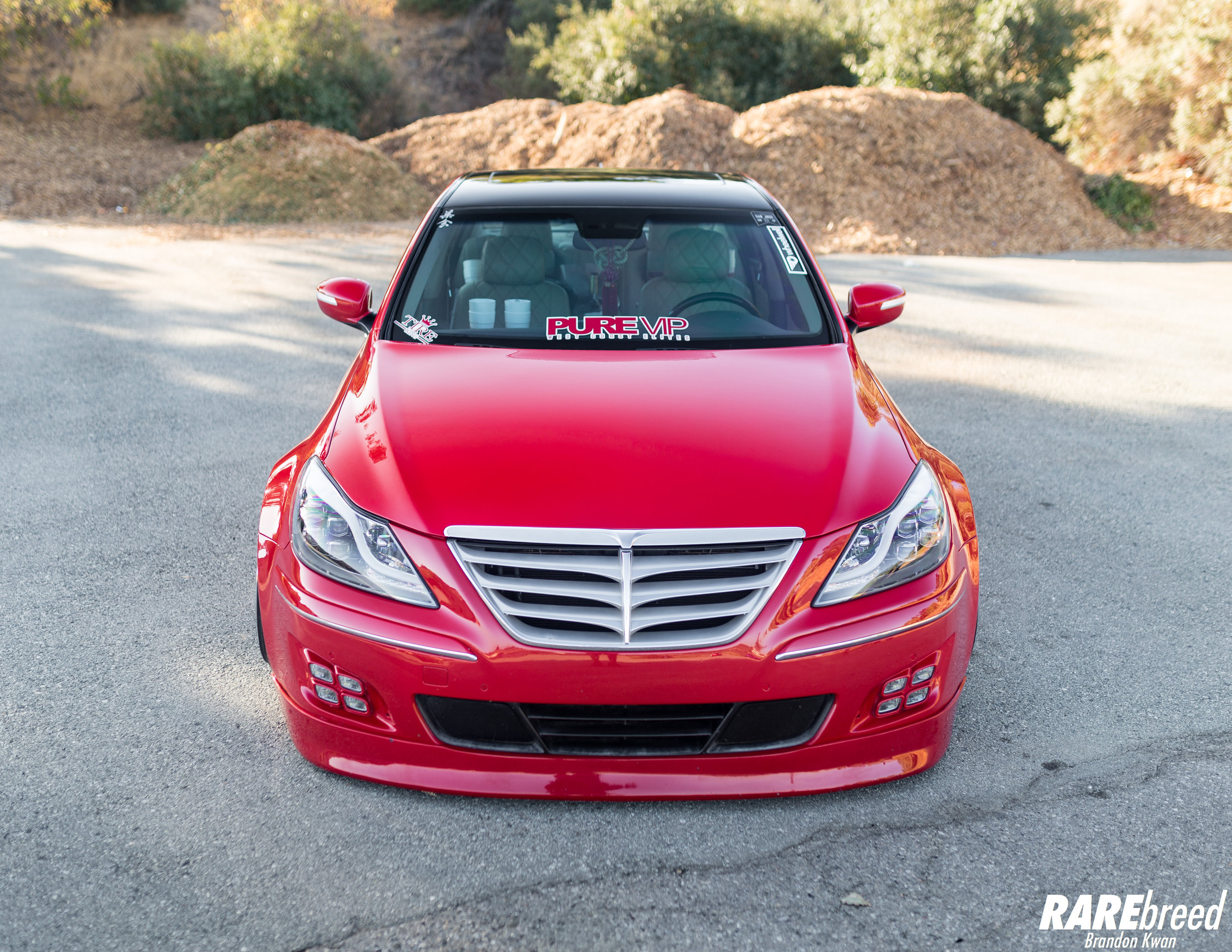 medium resolution of shaun s 2011 hyundai genesis prada pure vip