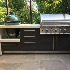 Out Door Kitchen Wolf Ranges Outdoor Kitchens By Garden Living Contemporary The Smokers Corner
