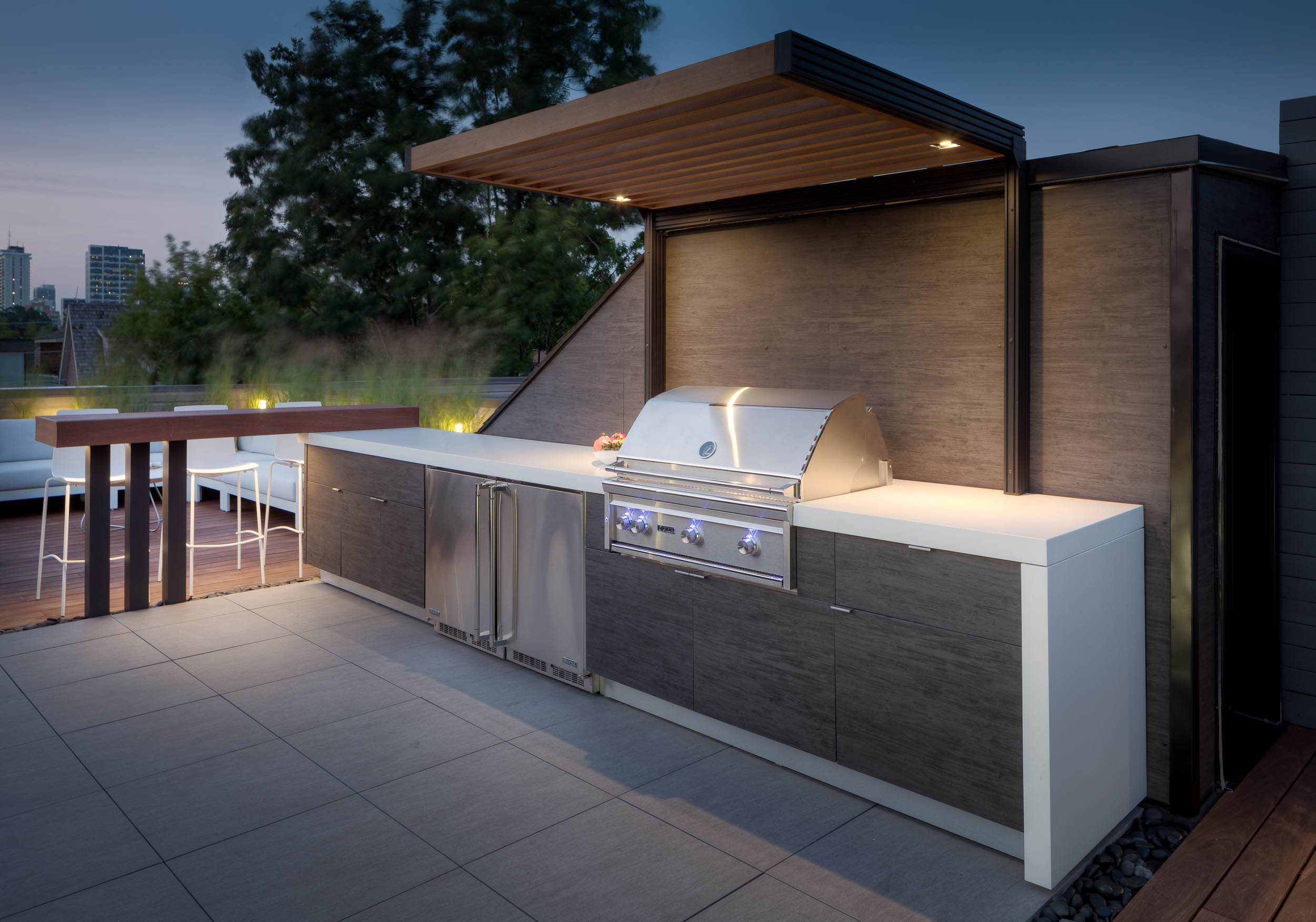 outdoor kitchens ninja kitchen by garden living gallery rooftop terrace