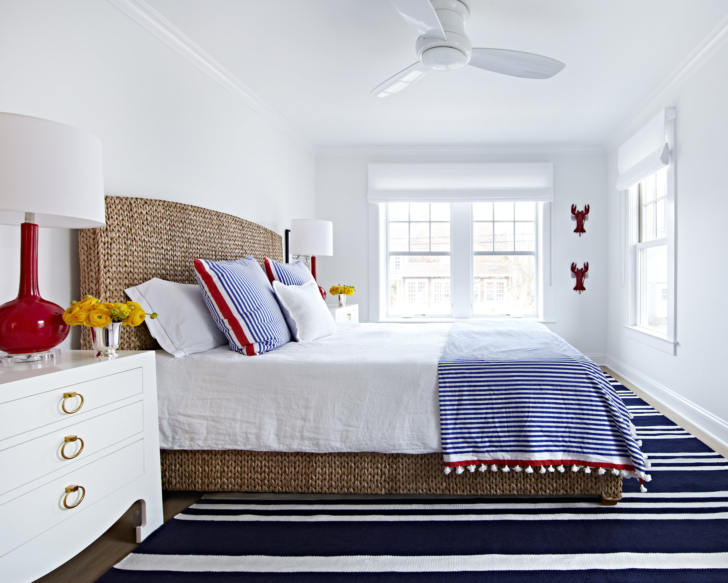 12. Bay Head Beach Bungalow by Chango & Co. - Guest Room 2 Bedside View.jpg