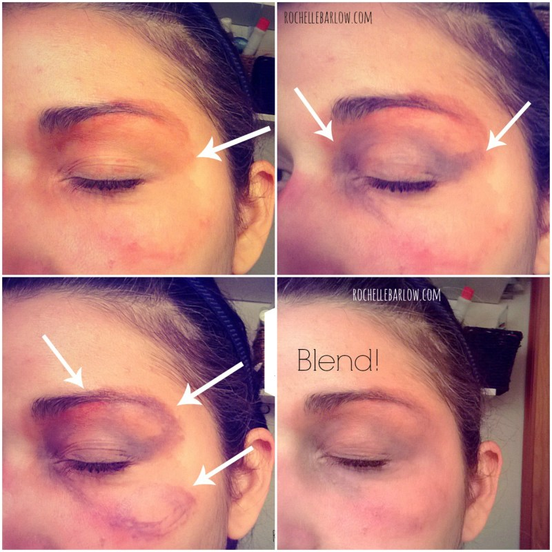 Bruise Yourself With Stage Makeup