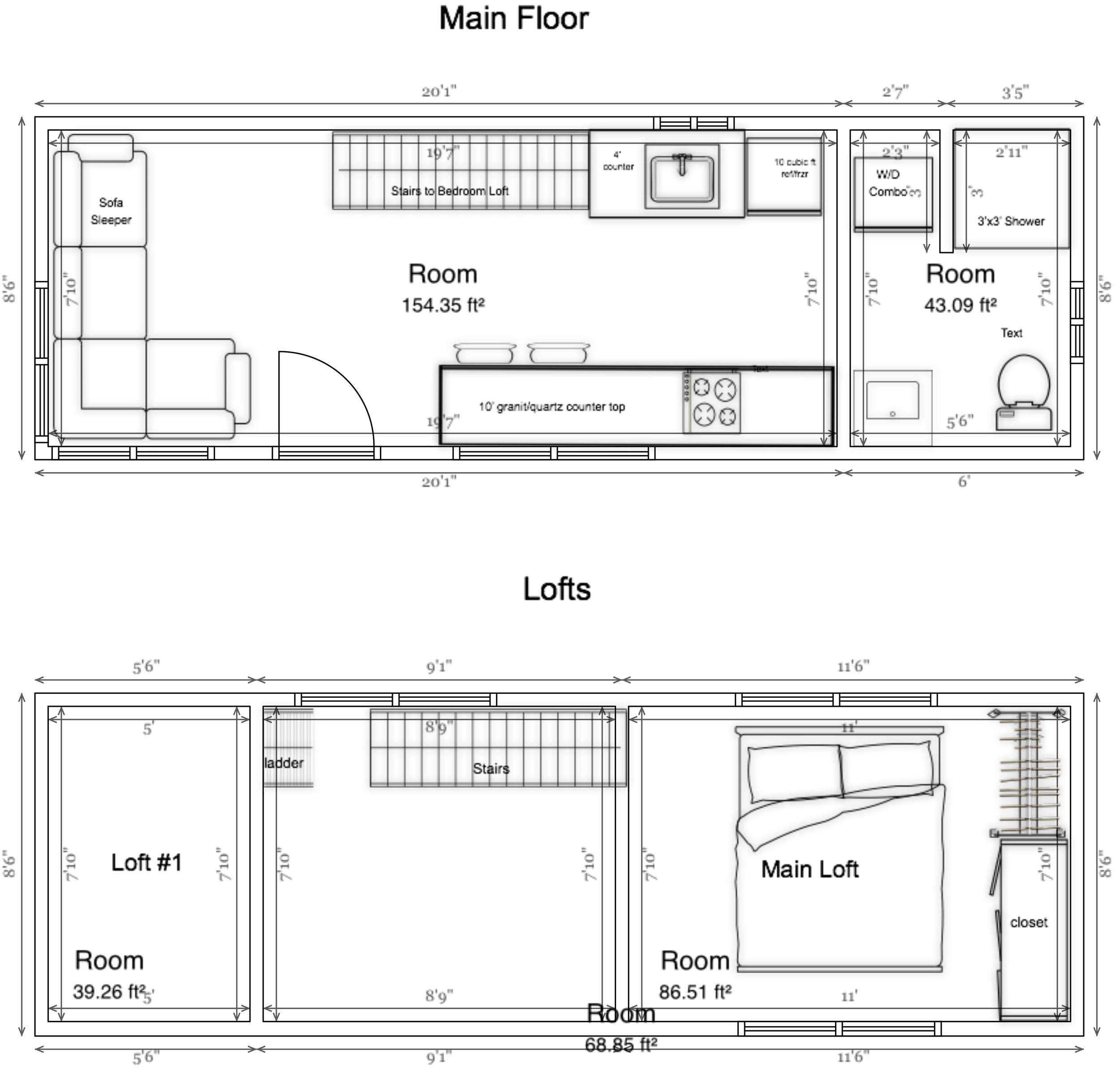 floor plan 26 model [ 1000 x 956 Pixel ]