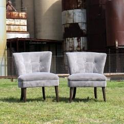 Grey Velvet Slipper Chair Best Massage For Neck And Shoulders Kohler Chairs Rent My Dust