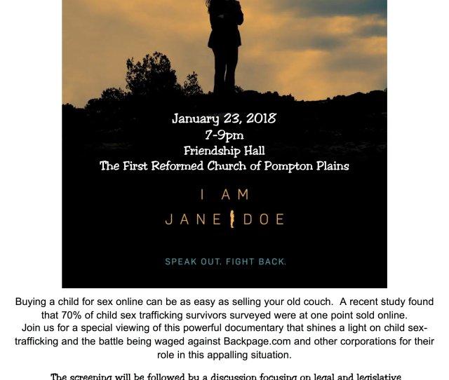 I Am Jane Doe Pompton Jan  Jpg