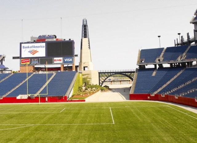 Image result for gillette stadium sunny side
