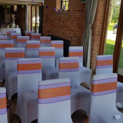Wedding Chair Covers East Midlands Giant Pillow Cover Hire Nottingham Derby And The