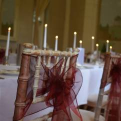 Chair Covers And Sashes Hire Turquoise Desk Target Cover Nottingham Wedding Organza Burgundy Jpg