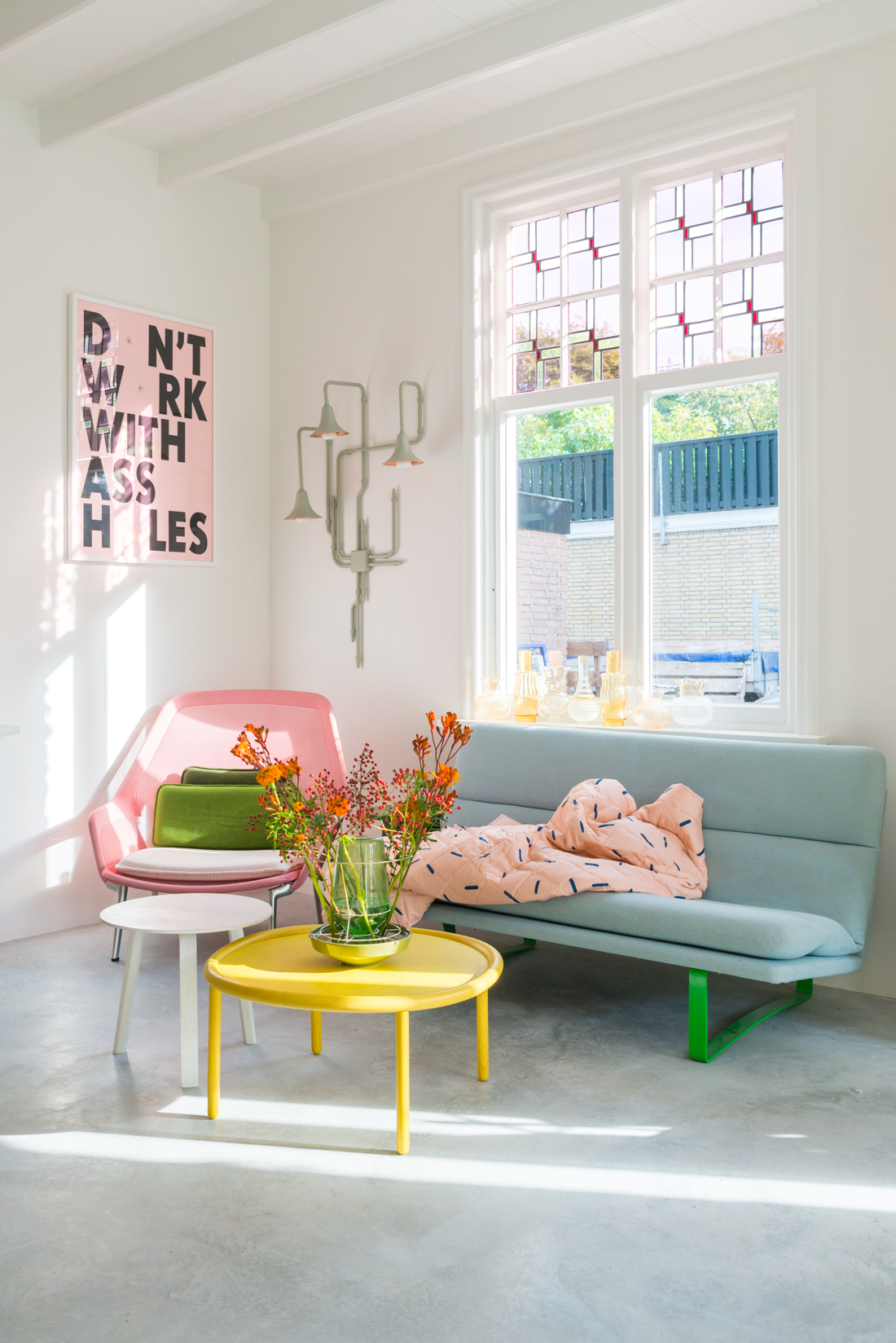 Tour This Colorful + Cheerful Dutch Home