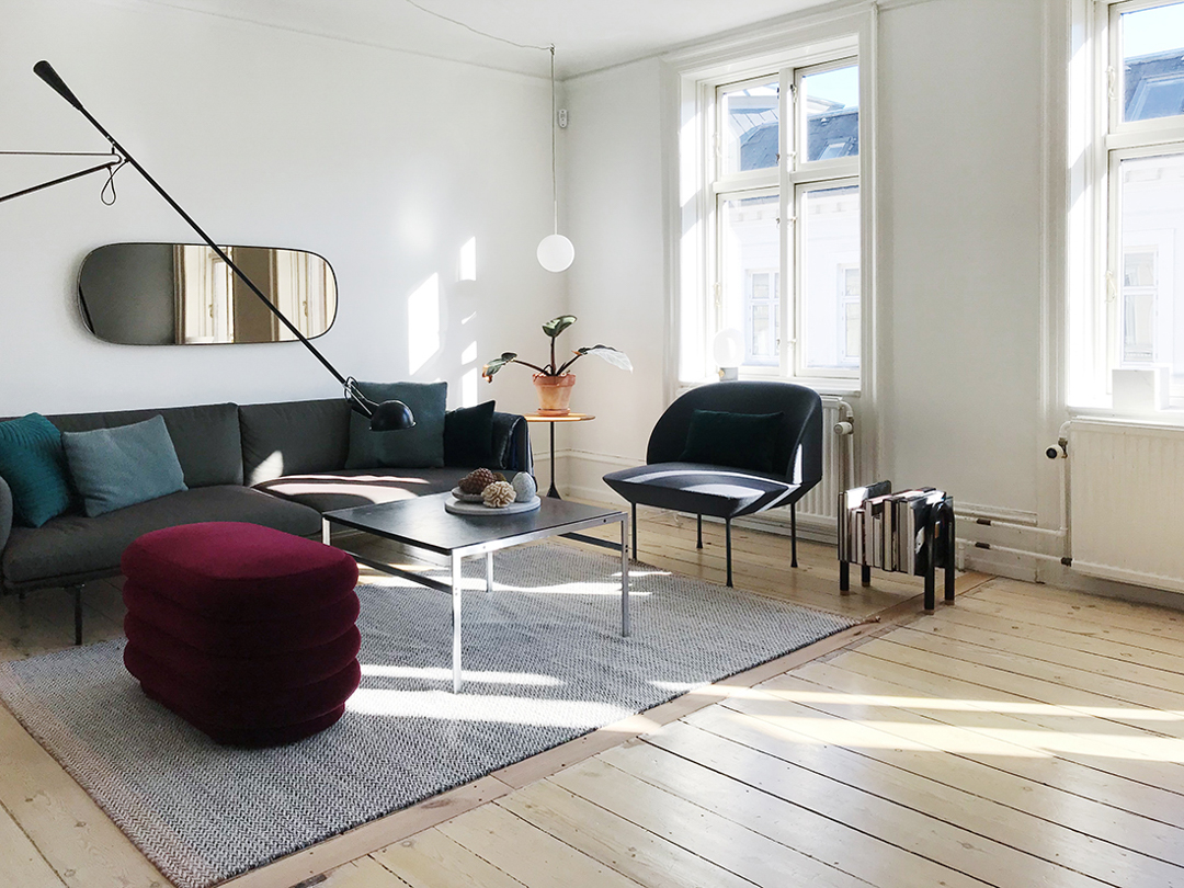 Lovely Danish Apartment Of Designer Nina Bruun +  Questions