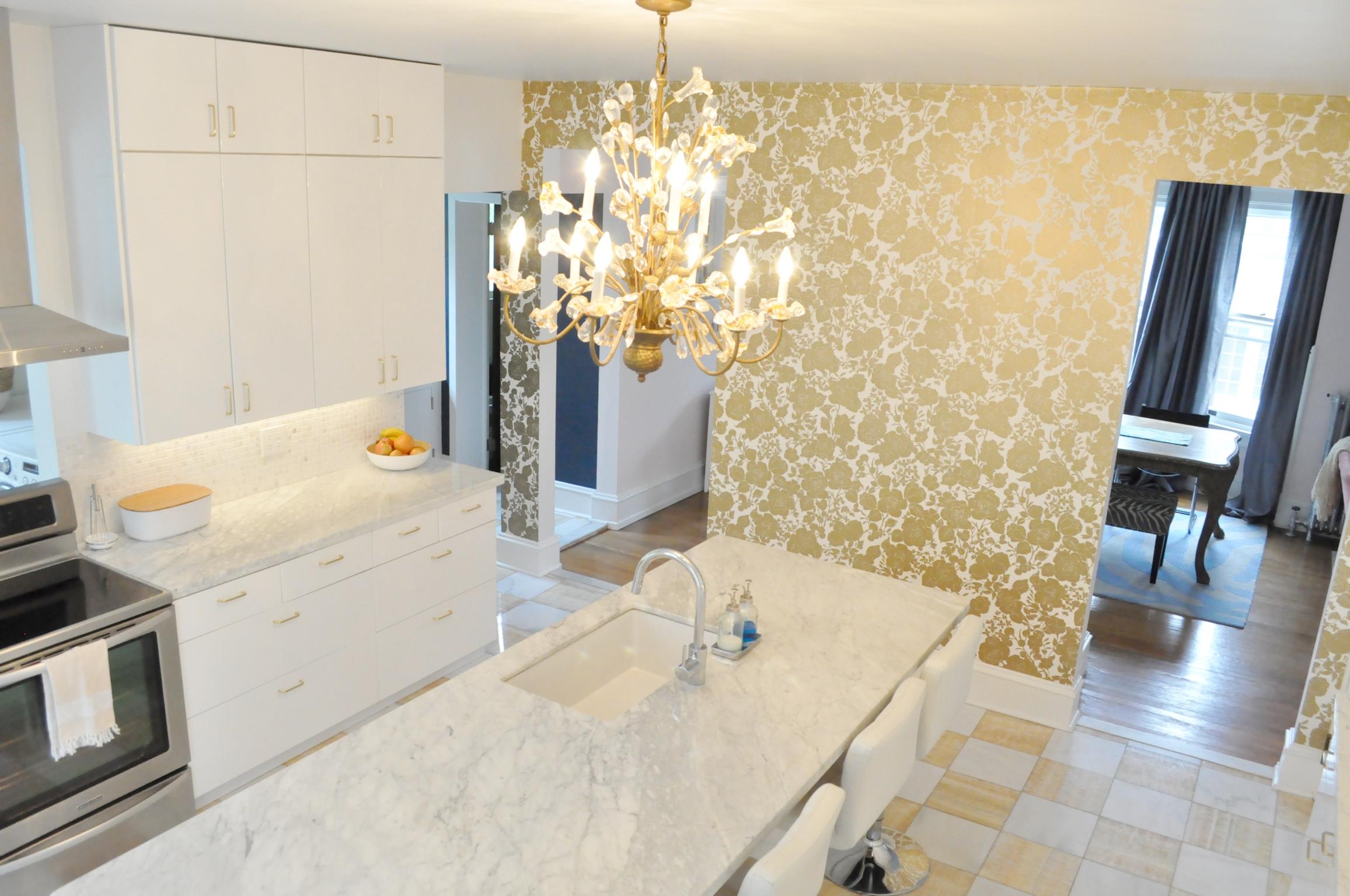 gold kitchen cabinet spray paint white and erin jackson larkin interiors