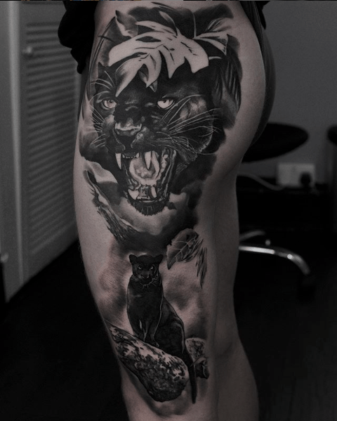 Black And Grey Realism Tattoo Artists Uk