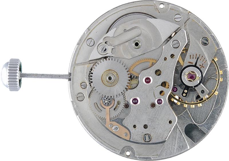 Ratchet wheel removed