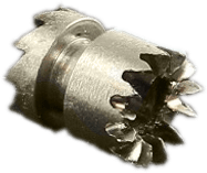Sliding pinion