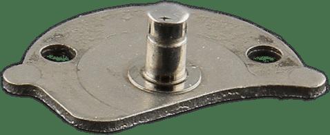 Rotor pivot axel